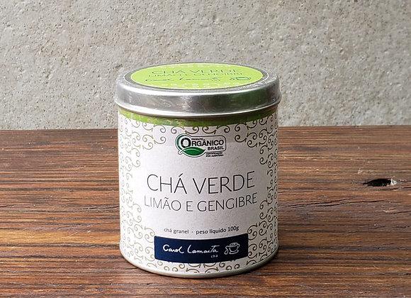 Chá Verde - Lata 100g