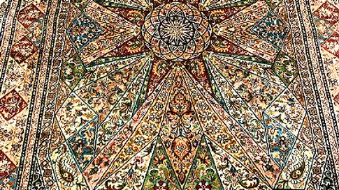 hanndmade kashmir carpet