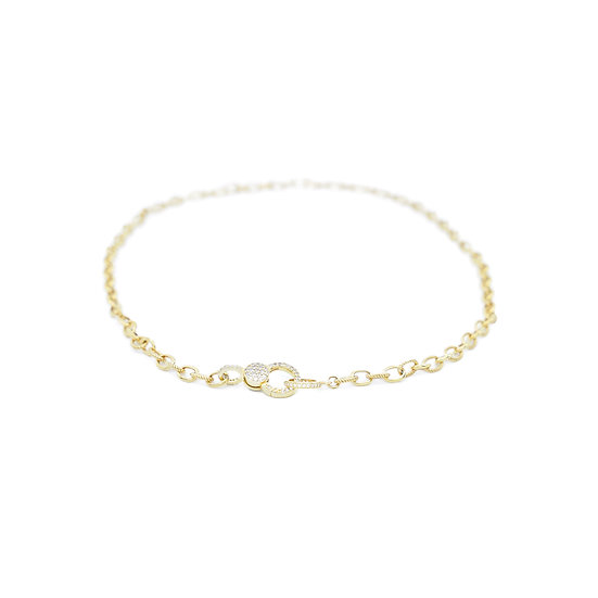 Chain of Love 016 - Small Link - Yellow Gold