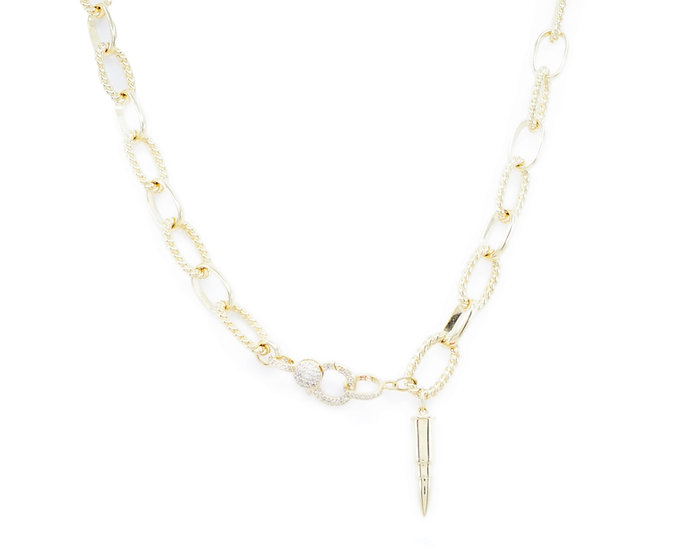 Chain of Love 036 - Large Link - Yellow Gold