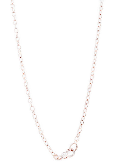 Chain of Love 036 - Small Link - Rose Gold
