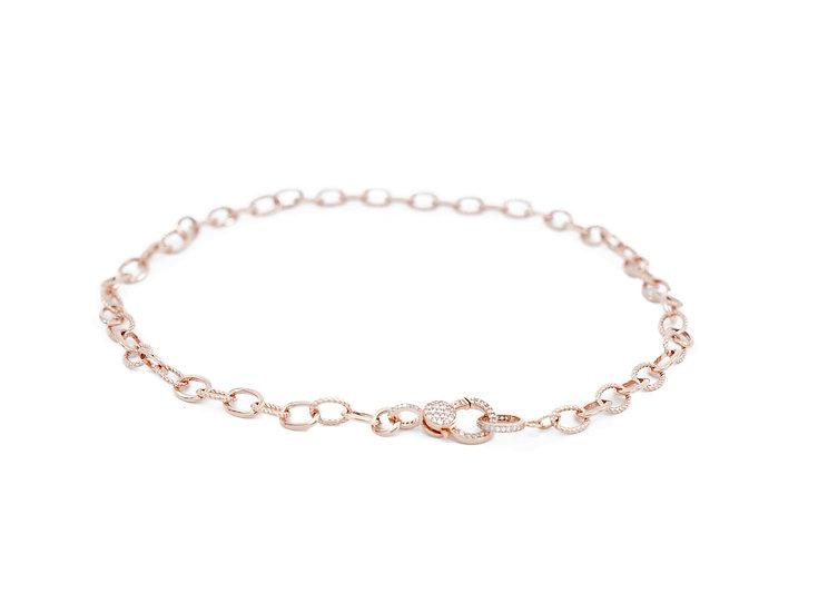 Chain of Love 016 - Medium Link - Rose Gold