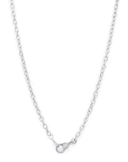 Chain of Love 036 - Small Link - Rhodium