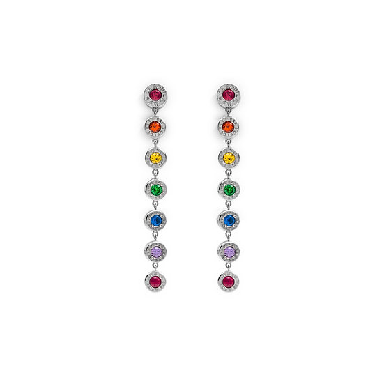 Aguila Rainbow Cap Earrings