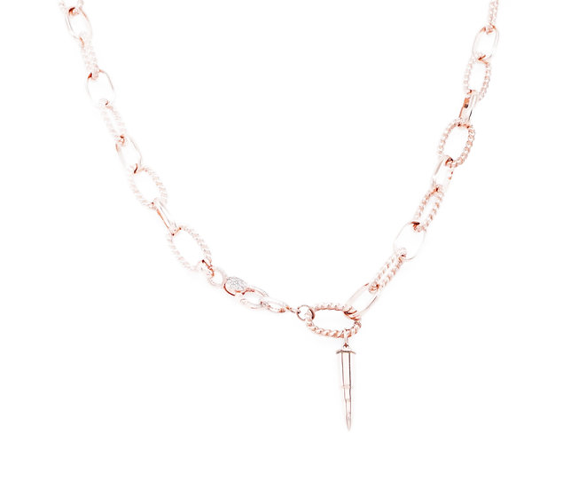 Chain of Love 036 - Large Link - Rose Gold