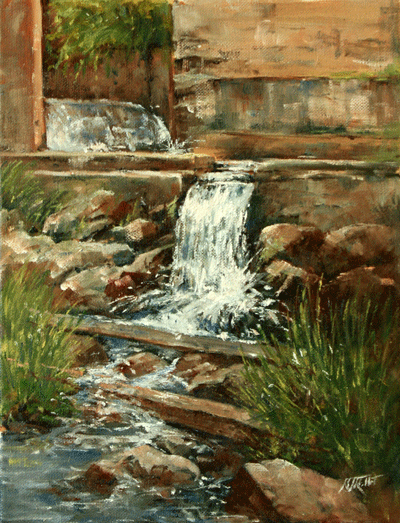 Middlebury Falls Spillway