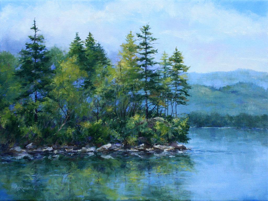 Reflecting Pines