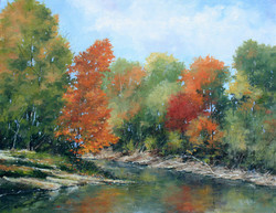 Fall Reflections on Otter Creek