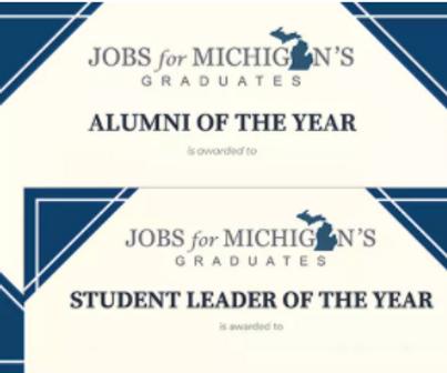 Jobs for Michigan Grads Celebrate Award