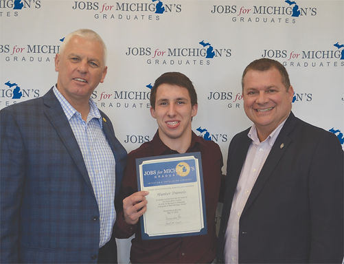 State Leaders Recognize Muskegon County Resident