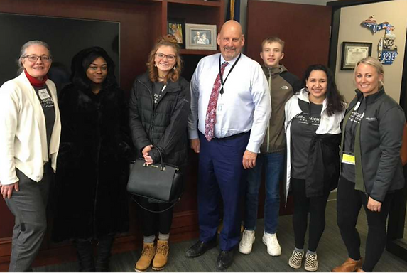 Local JMG Students Attend Legislative Day