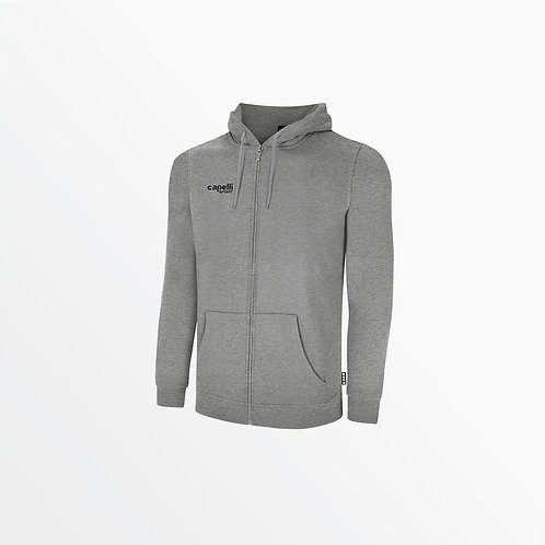 ADULT BASICS FLEECE ZIP UP HOODIE