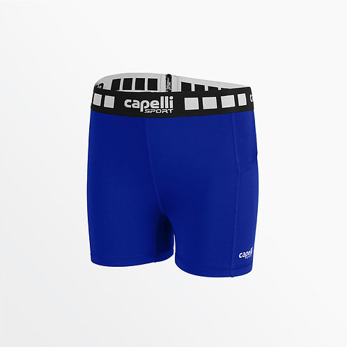 "GIRL'S 4"" PERFORMANCE SHORTS"