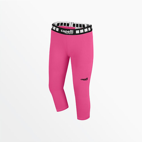 GIRL'S 3/4 PERFORMANCE TIGHTS