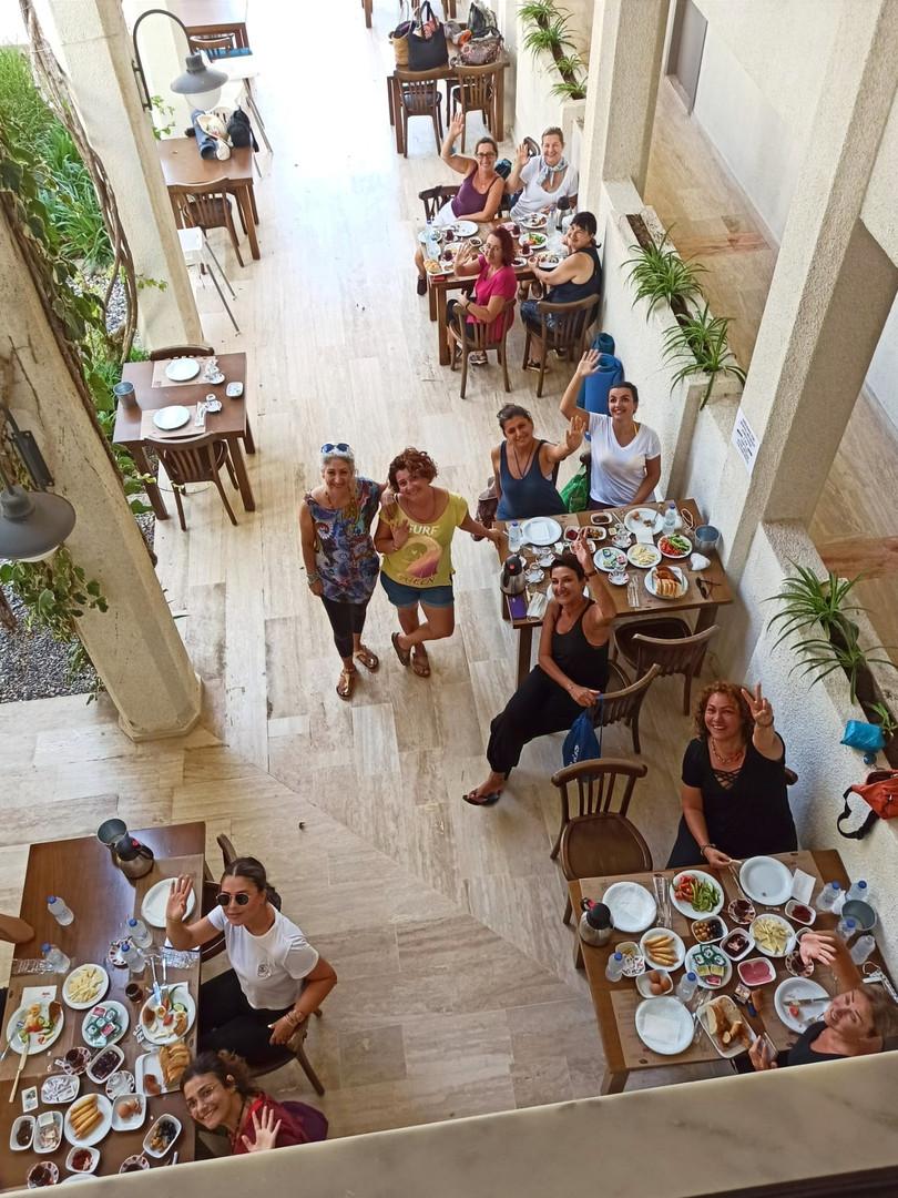 Arinnanda Avlu'da Kahvaltı Etkinliği