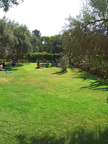 Arinnanda Bahçe'de Yoga Etkinliği
