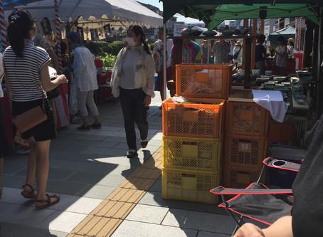 猛暑の中、今日から始まりました!!『五条坂陶器まつり』