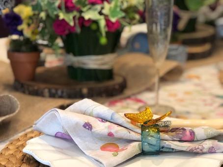 人気の芦屋bijoux 乾衣里先生フレッシュフラワー 春のお花 レッスン〈開催レポート〉
