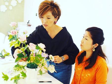 『花・芸術文化協会』フレッシュフラワーディプロマコース 開催レポート