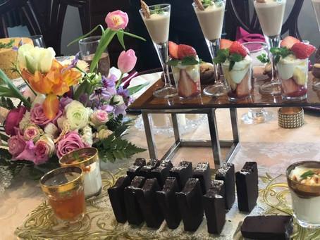 神戸で人気の deux petit sucrery のお二人によるバレンタインスィーツパーティ〈開催レポート〉