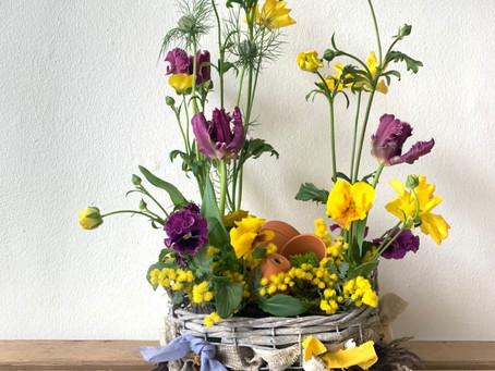 「春のお花のアレンジメント」ワークショップのご案内
