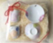 記念品贈呈|お茶碗