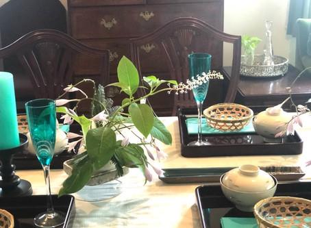 徳川家康の好んだ料理と夏会席レッスン終了いたしました。