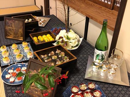 2018年1月 奈良喜光寺でのお料理レッスン 女正月 ナンシーズクッキングサロン