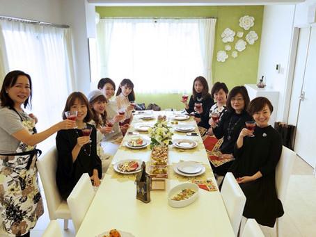 2月22日に神戸お稽古サロンで行いました「世界の美食家が集うバスク地方の料理」レッスンのご報告
