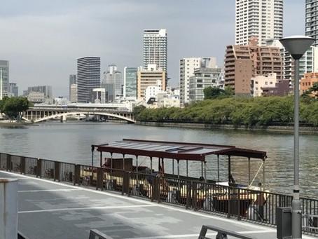 淀川三十石船に乗り、天満橋~枚方まで