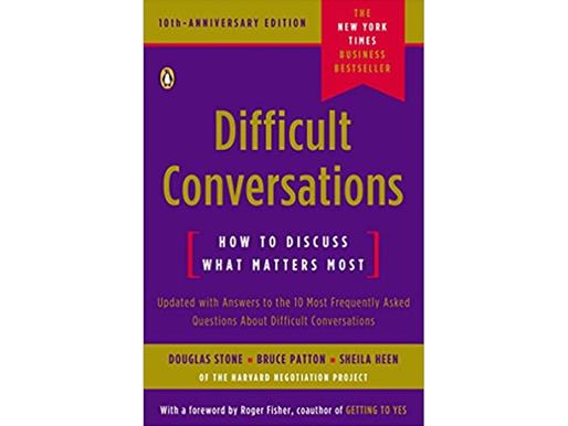 'Difficult Conversations' - 80/20 Summary