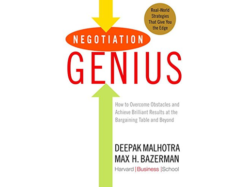Negotiation Genius 80/20 Summary