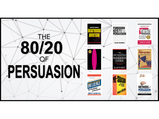 The 80/20 Guide to Persuasion - 53 Mental Models
