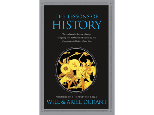 The Lessons Of History Summary