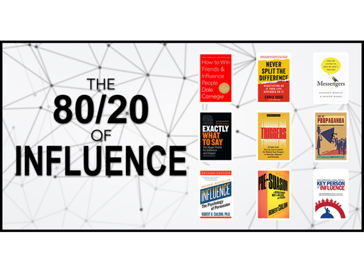 The 80/20 Guide to Influence