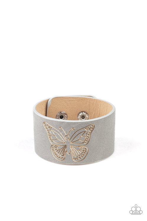Flirty Flutter - Silver