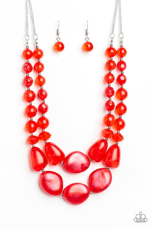 Beach Glam - Red