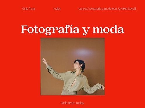 Curso fotografía y moda FEBRERO online presencial
