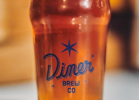 16oz Logo Pint Glass