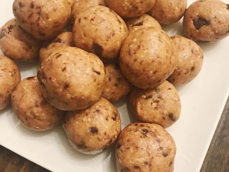 "Chocolate Chip ""Cookie Dough"" Balls"