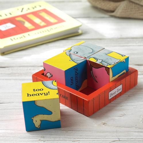 Dear Zoo Puzzle Block