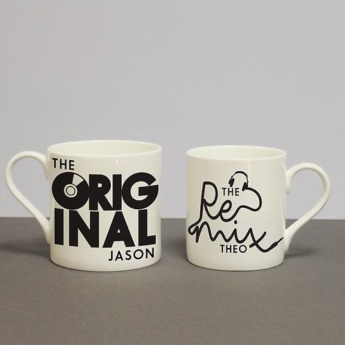 Original & Remix Mug Set