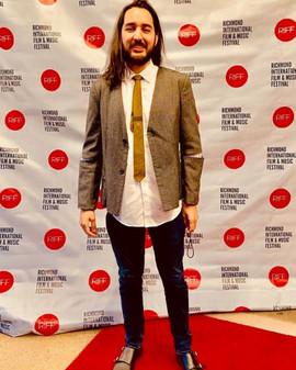 Red Carpet of the Richmond International Film & Music Festival. 2019.