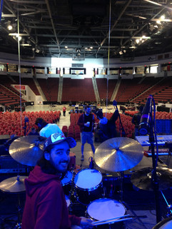 Berklee Commencement Concert 2014. Soundcheck.