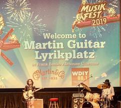 Sara Ontaneda & Fabio Rojas performing at MusikFest 2019.