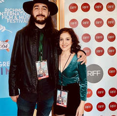 Fabio Rojas & Sara Ontaneda @ Richmond International Film & Music Festival 2019.