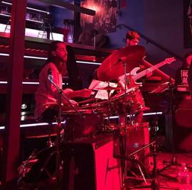 Fabio Rojas & Akos Forgacs performing at Nublu.