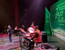 Greg Osby Band @ Daegu Jazz Festival. Greg Osby, Lonnie Plaxico, Jangeun Bae, Fabio Rojas