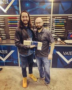 Fabio Rojas & Mark Pozzo. Vater Drumsticks.