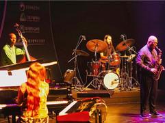 Greg Osby Band @ Daegu Jazz Festival. Jangeun Bae, Lonnie Plaxico, Fabio Rojas, Greg Osby.